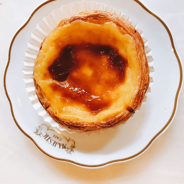 Porto is a (literal) breath of fresh air -- 30 degrees cooler than Madrid. I feel drunkenly enchanted by this place. Naturally, I celebrated by eating three pastels de nata, gawked at intricate and beautiful tiling that decorated the city, and ate at an 160 year old restaurant. #melaniegoesstag