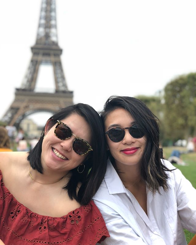 To my crepe sister, you make the grey Paris skies much brighter. Thanks for covering my butt in more ways than one and always making sure my cup is full. LOVE YOU @_angelatrinh