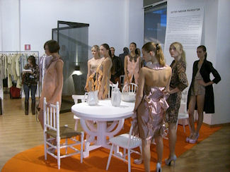 Models waiting note the snacks on the table.jpg