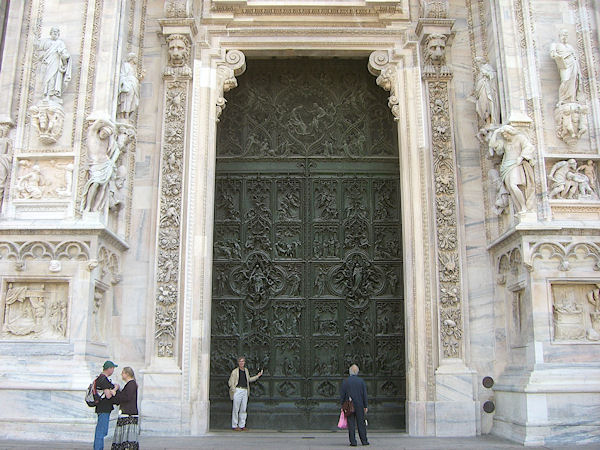 Paul shows the scale of the door.jpg
