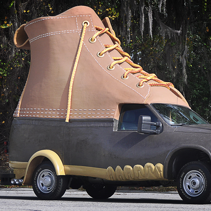 L.L. BEAN'S DUCK BOOT MOBILE - MAINE