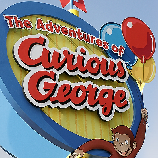 UNIVERSAL STUDIOS - CURIOUS GEORGE