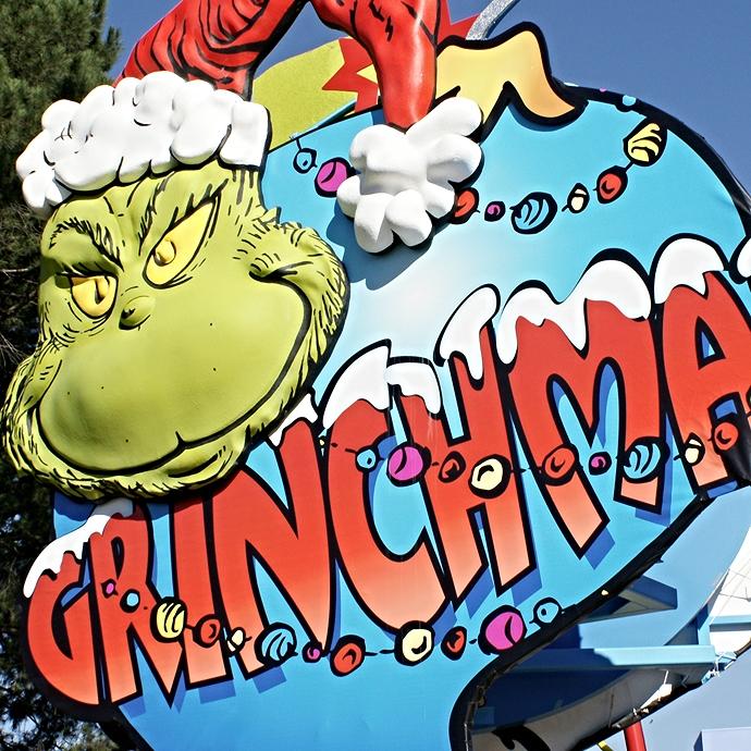 Universal Studios - Grinchmas