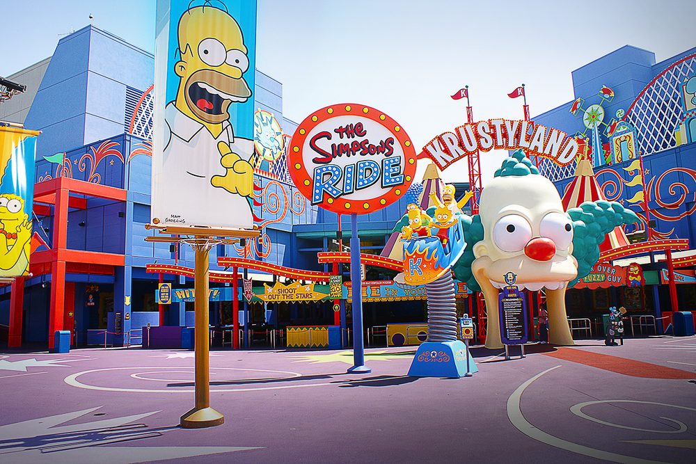 The Simpsons Ride-Universal Studios Hollywood