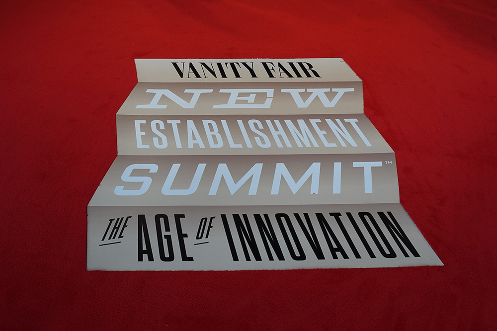 Vanity Fair-New Establishment Summit