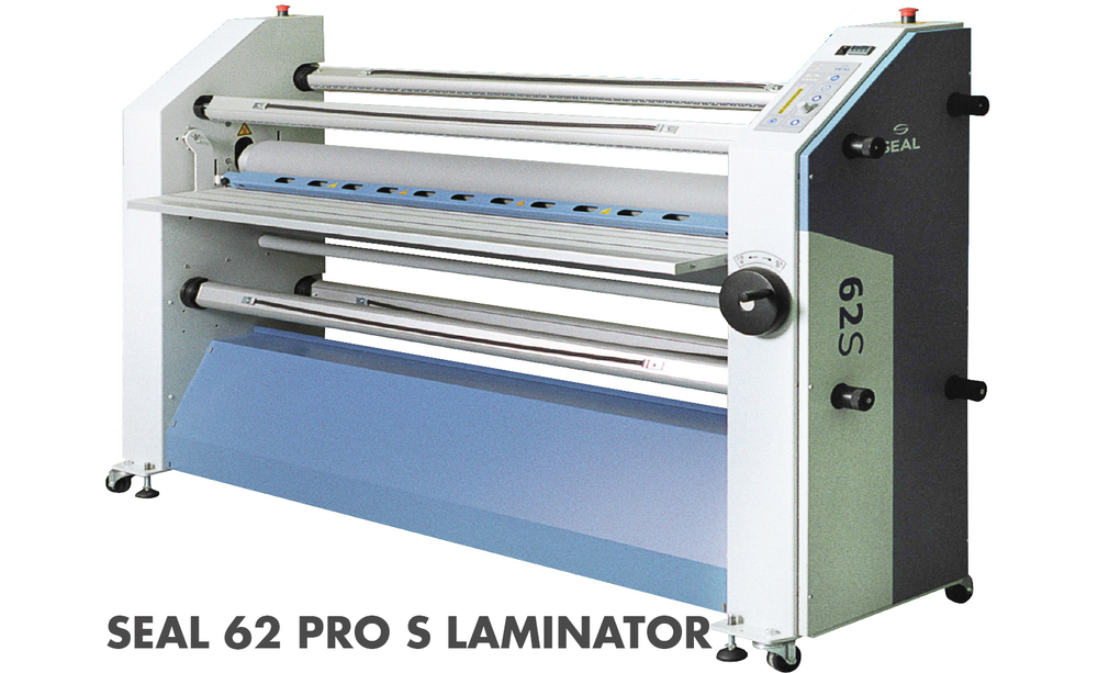 "- The SEAL 62 Pro is a 62"" wide dual heat and cold model to suit every application need. - Adjustable feed setting that accommodates up to 1.5"" thick  materials"