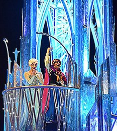 Frozen-Paint the Night Parade