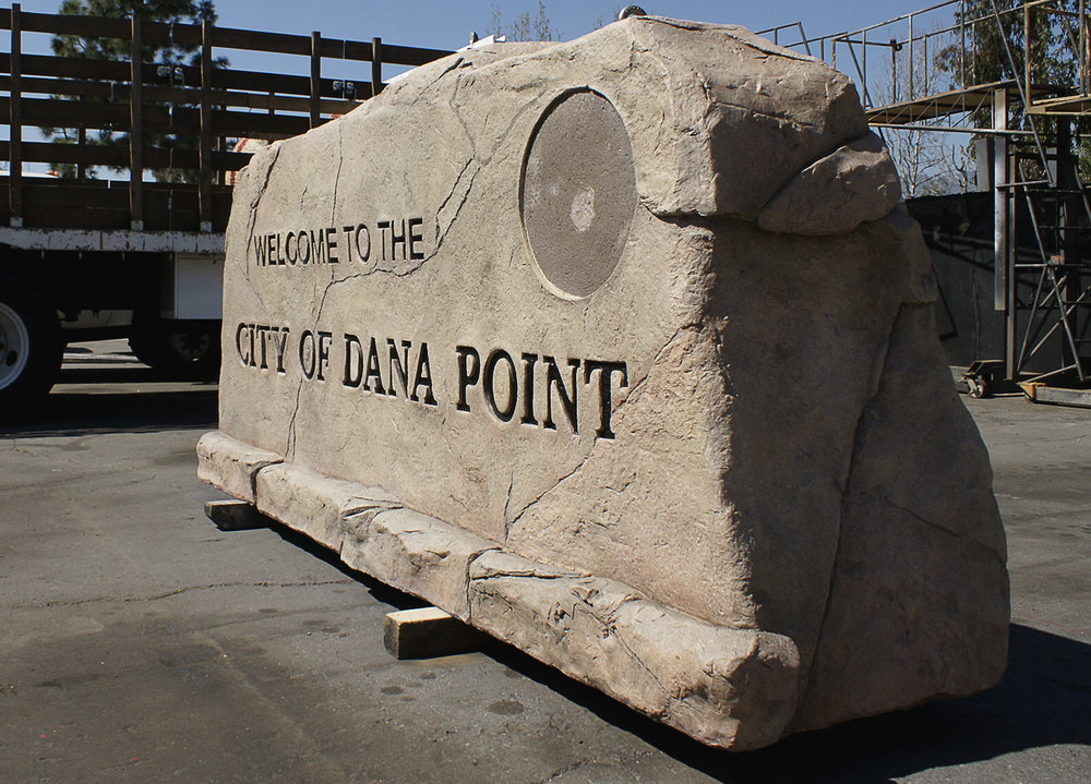 Fiber Glass Monument Signs