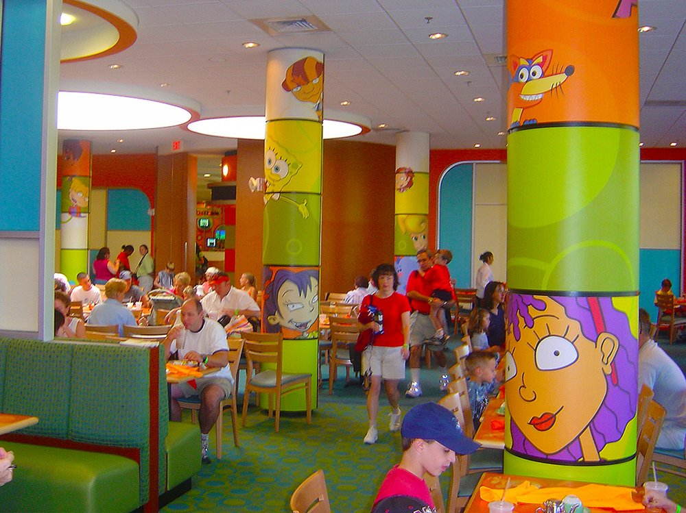 Nickelodeon Food Court