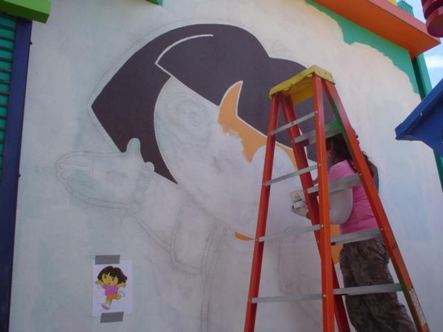 Dora Mural