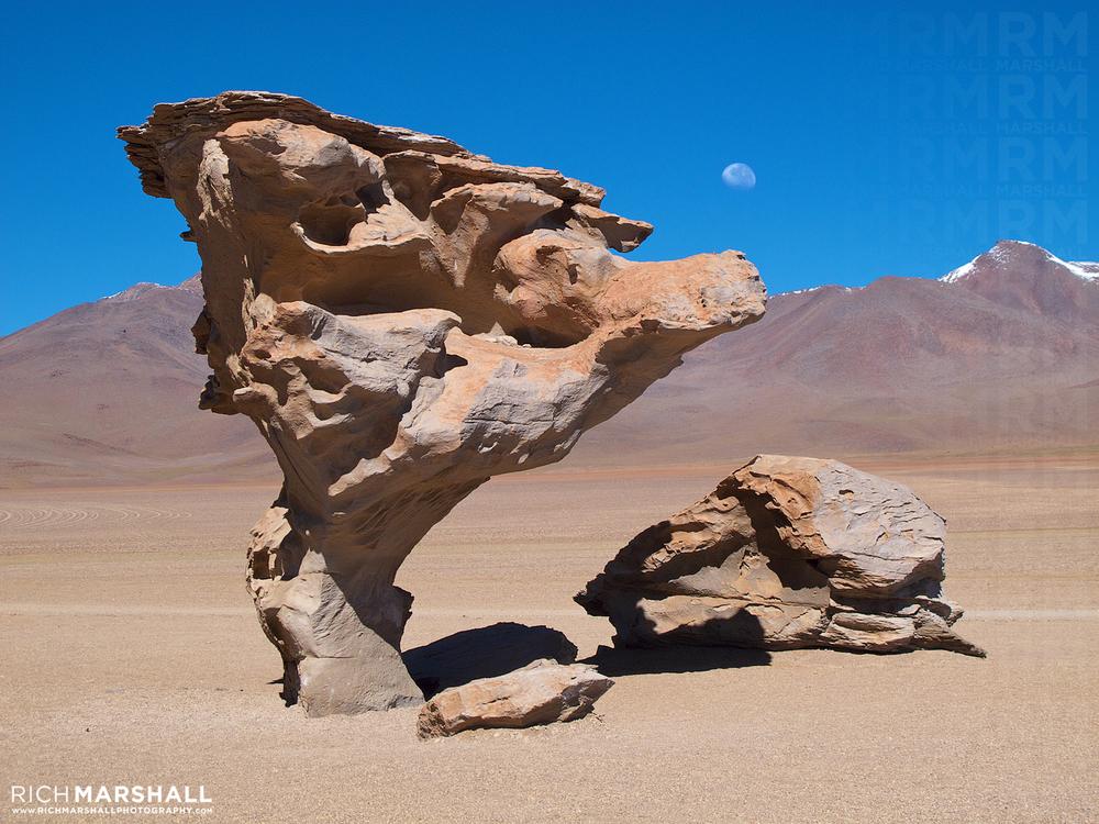 Árbol de Piedra, Bolivian Altiplano