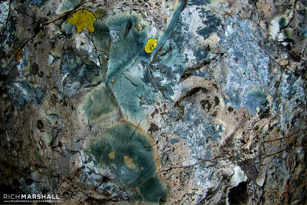 Rock colours, Scafell Pike