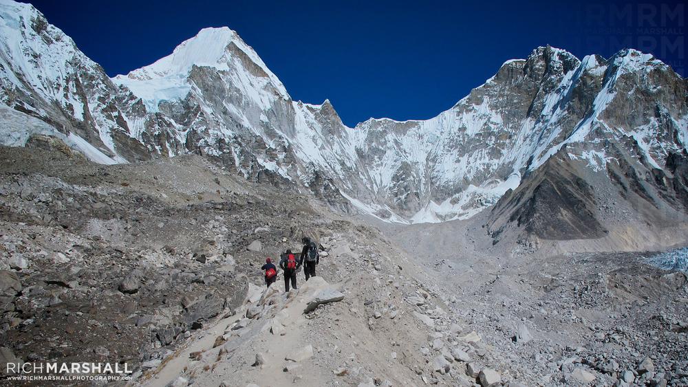 Lingtren & Khumbtse, Khumbu Valley