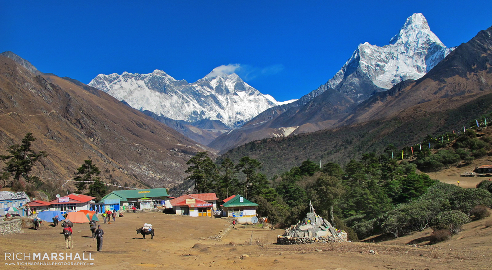 Everest, Nuptse & Ama Dablam