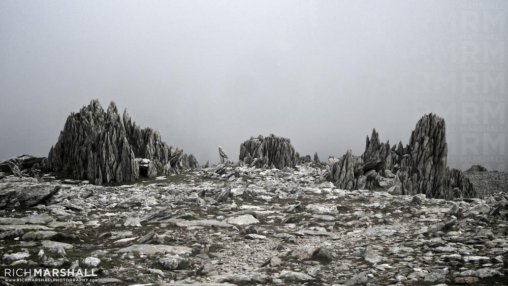 Glyder Fawr Summit / Wales