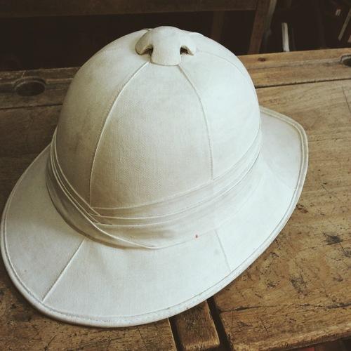 9609b768a37ce British Army Pith Helmet — Fieldstaff Antiques