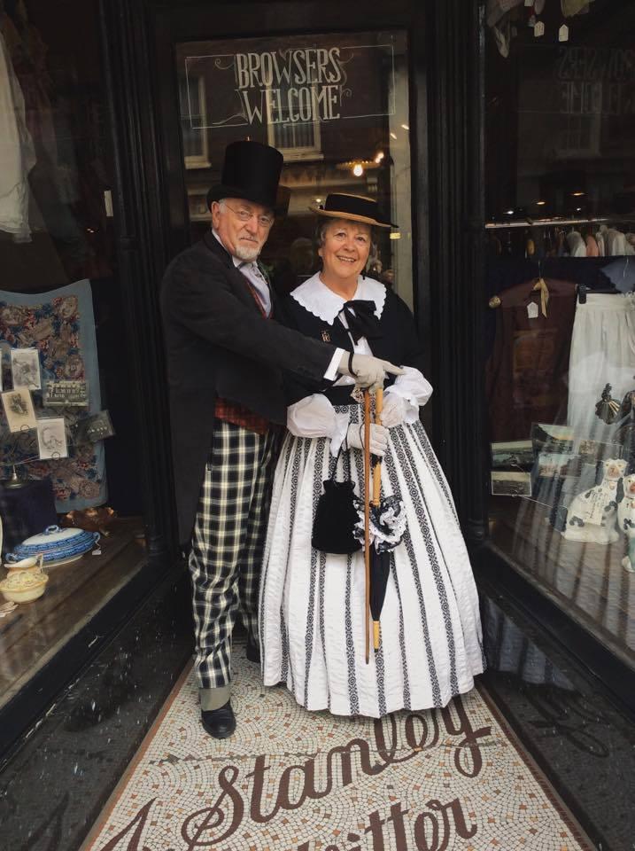 Regular visitors Barbara & Eddie Goldsmith from Wales