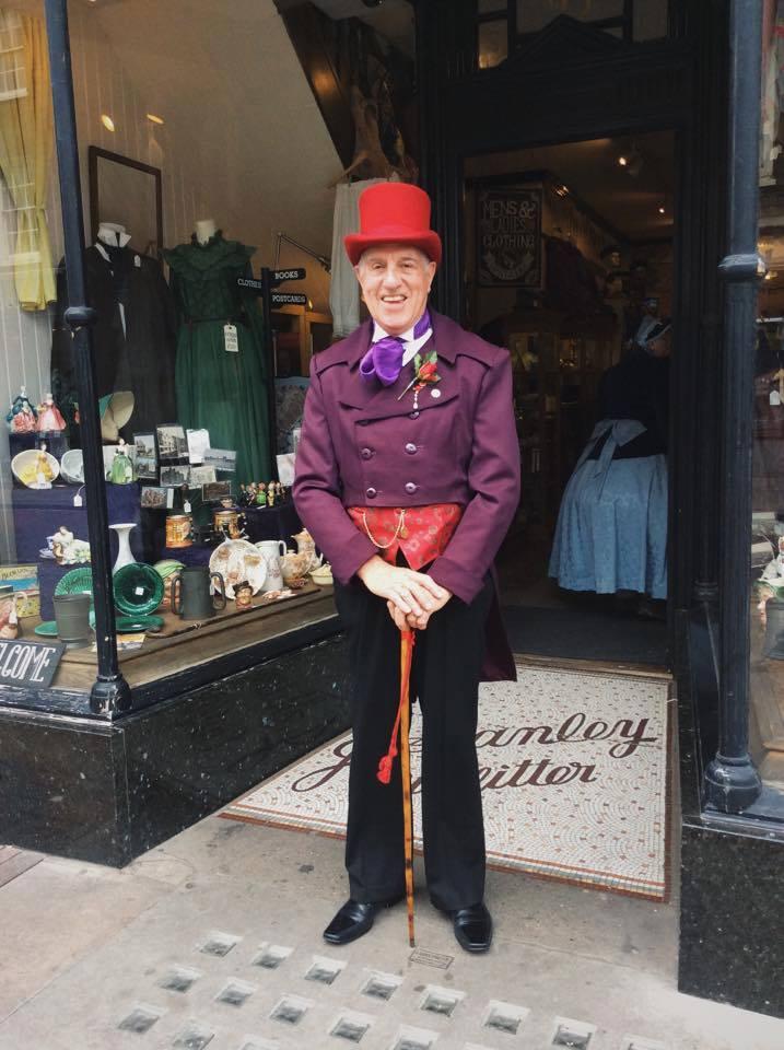 Nick Baines as a Victorian Gentleman