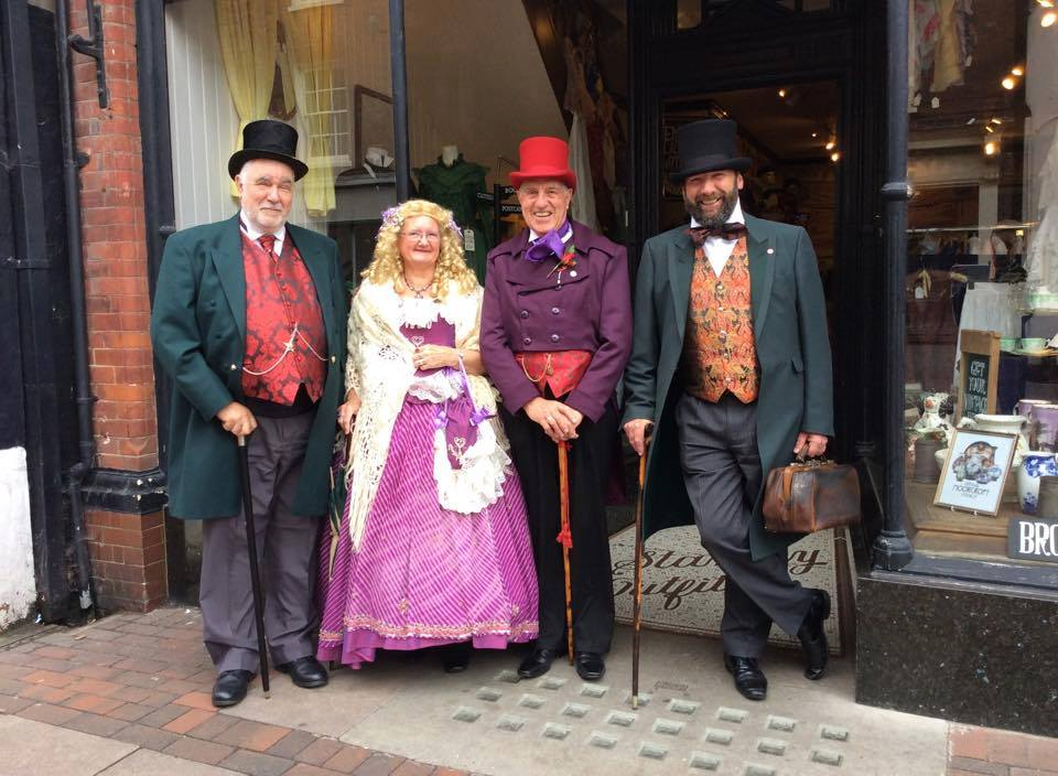 Peter Crawford, Margaret Reynolds, Nick Baines & Gerald Dickens