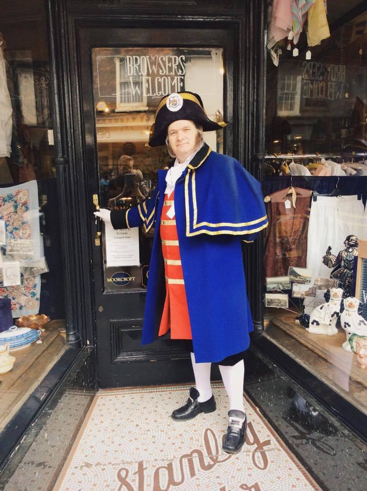 Tony Harrold as Mr Bumble, the Beadle