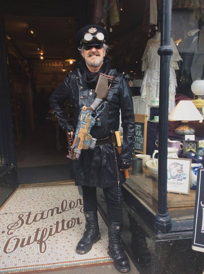 Steampunk Guy...Don't mess with him!