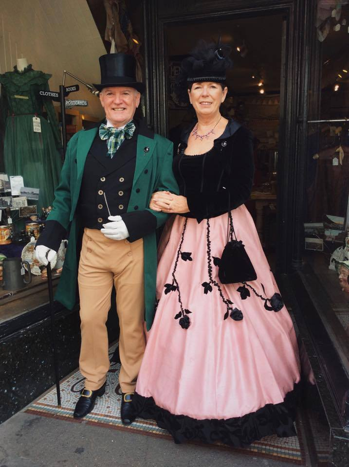 Chris & Christine Welles...more of their lovely outfits