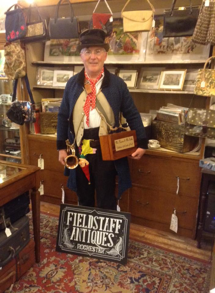 "Steve Martin as Mr Harris or ""Short Trotters"" from the Old Curiousity Shop"