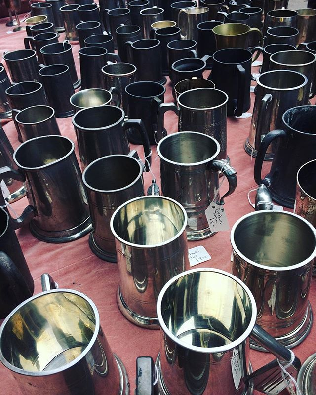 Everyone recovered from Sweeps yet?? We still have plenty of tankards for when anyone wants to start the party back up!