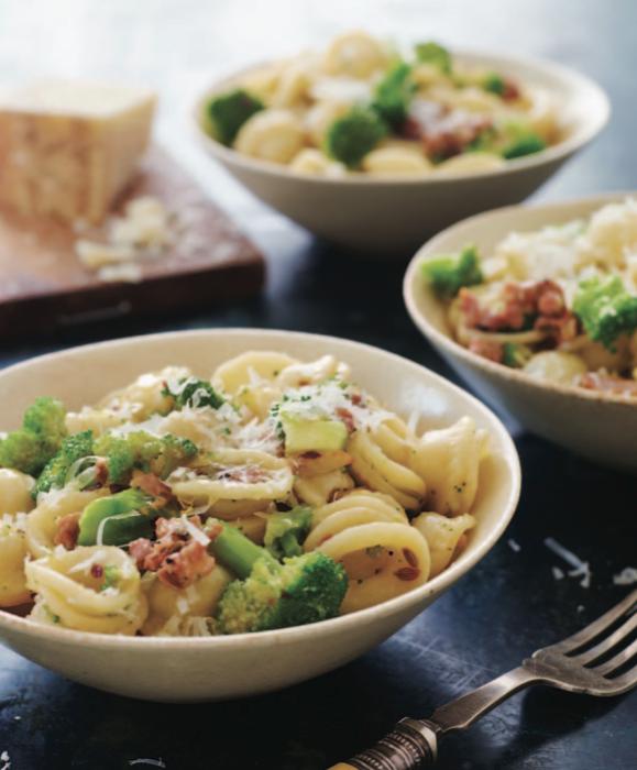 Orecchiette w/ Broccoli and Italian Sausage