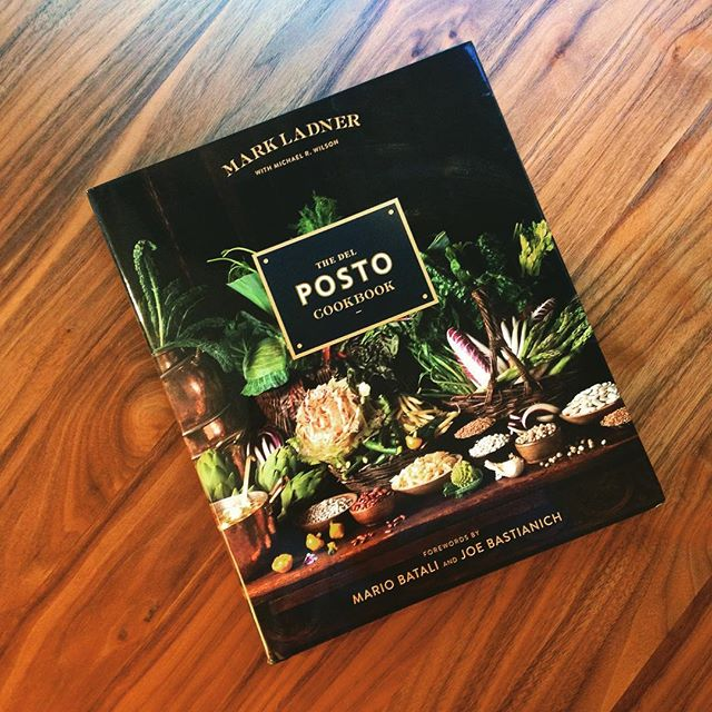 The astonishing @delposto cookbook from @chefmarkladner is out today! Forward by @mariobatali & @jbastianich. Put this on your holiday wish list pronto. • • • #books #foodstagram #bookstagram #cookbook #bookshelf #mariobatali #delposto #newbooks