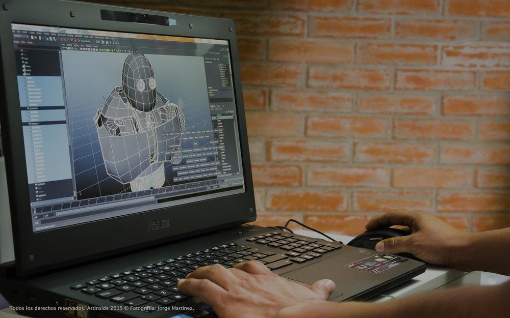 CURSOS - Los cursos ofrecidos en Artinside implican el uso de algún software específico, dependiendo del área a la que desees especializarte, desde la elaboración de modelos en 3D o manipulación de imágenes.