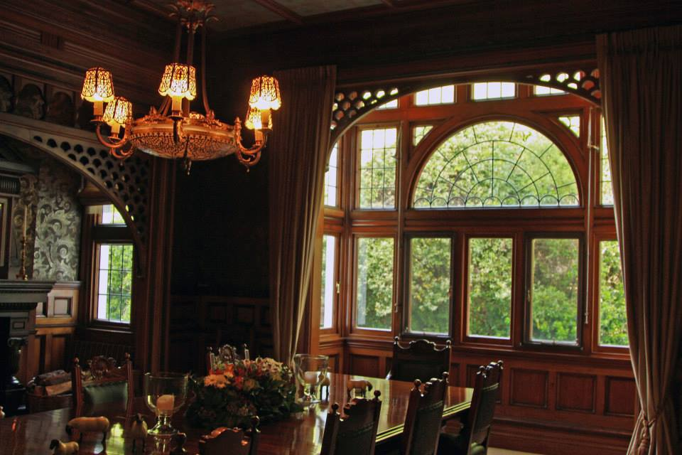 Dining room at Otahuna Lodge.jpg