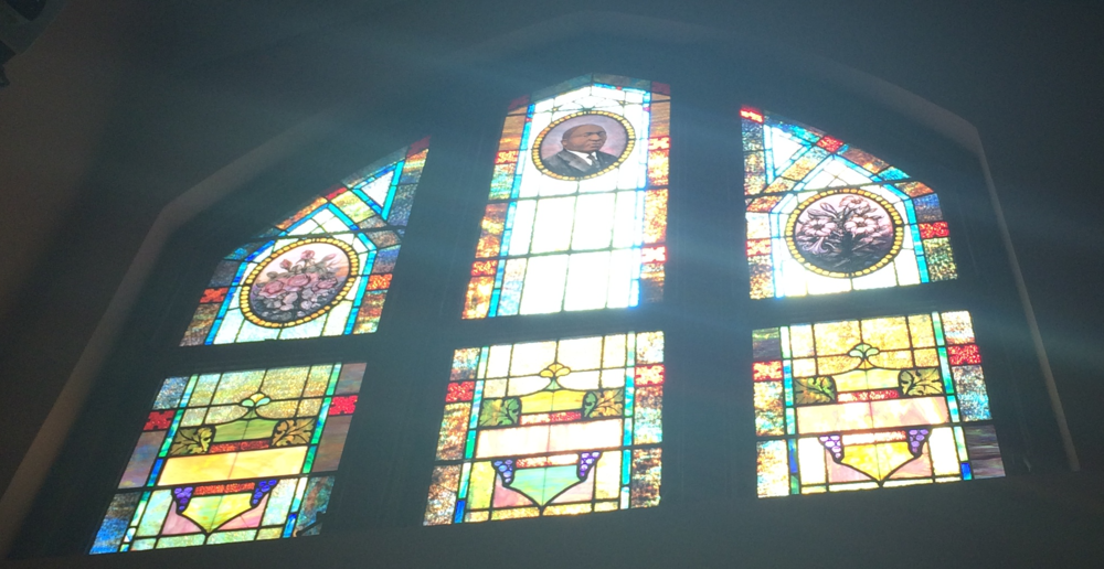 The stained glass from my visit toEbenezer Baptist Church in Atlanta