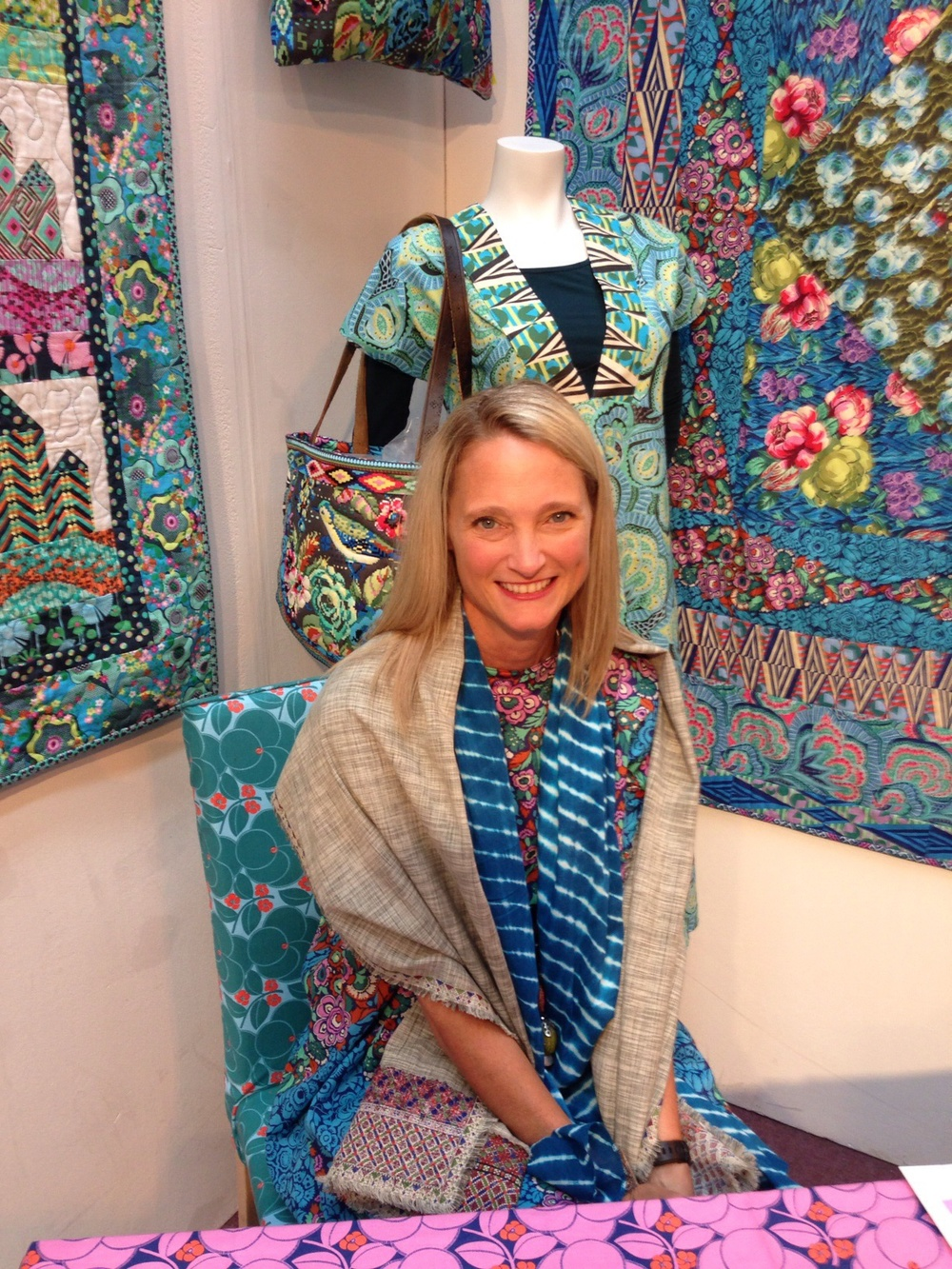 Amy Butler, Festival of Quilts 2014