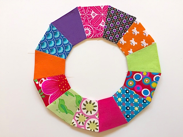 paper-pieced ring