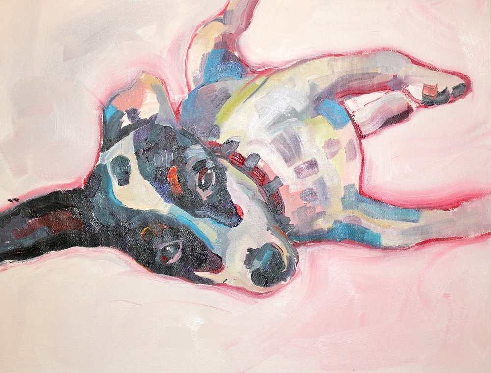 Presley, Oil on Canvas, 12'' X 18'', 2013