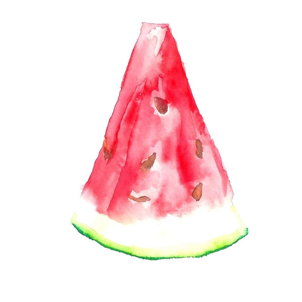 Watermelon, 5 x 7 '', $75
