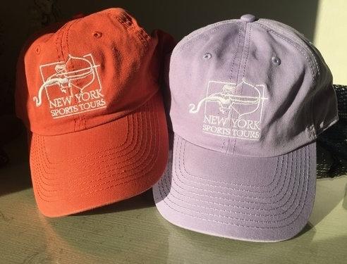 Each tour guest receives a premium New York Sports Tours baseball cap