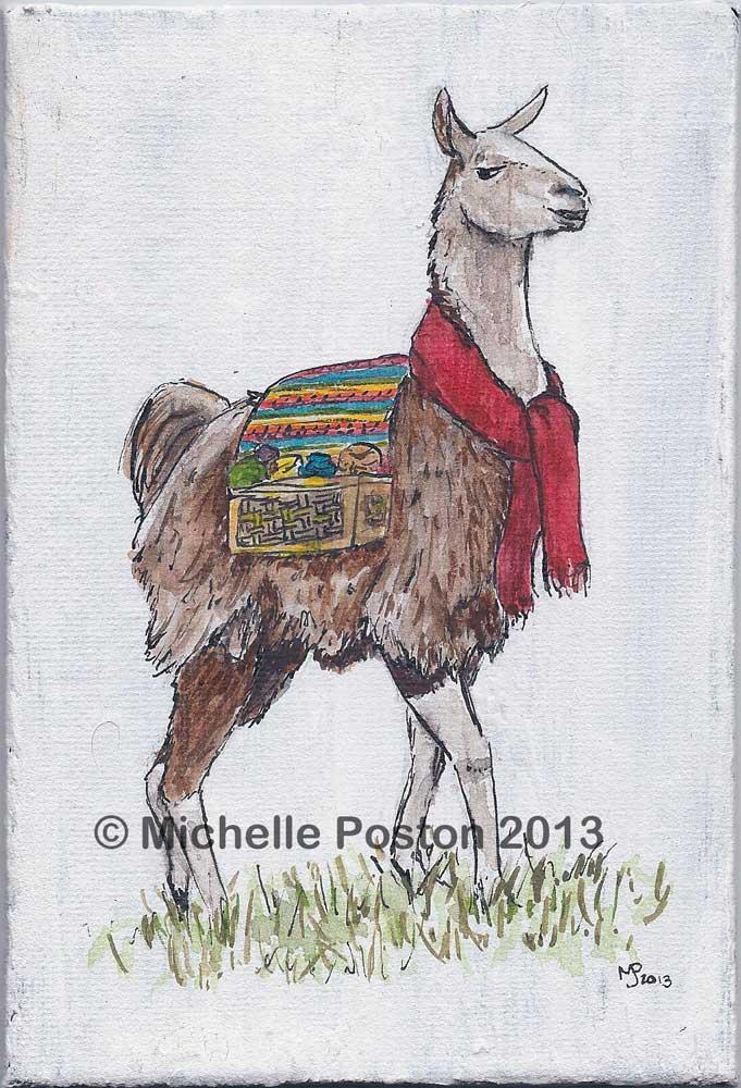 Llama the Yarnbringer
