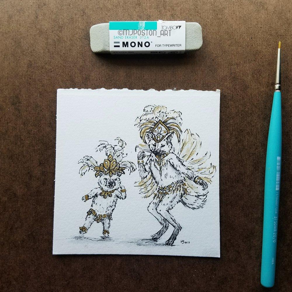 Tiny Dancers - Samba