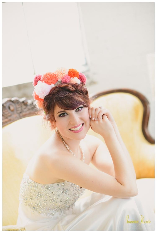 pom-pom - colorful wedding styled shoot > pennsylvania wedding