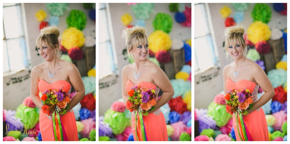 vibrant wedding photography