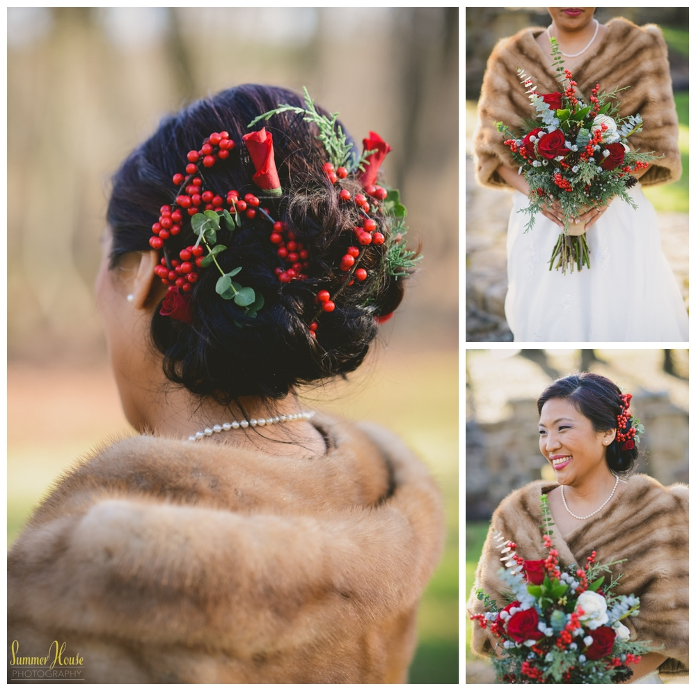 pennsylvania winter wedding