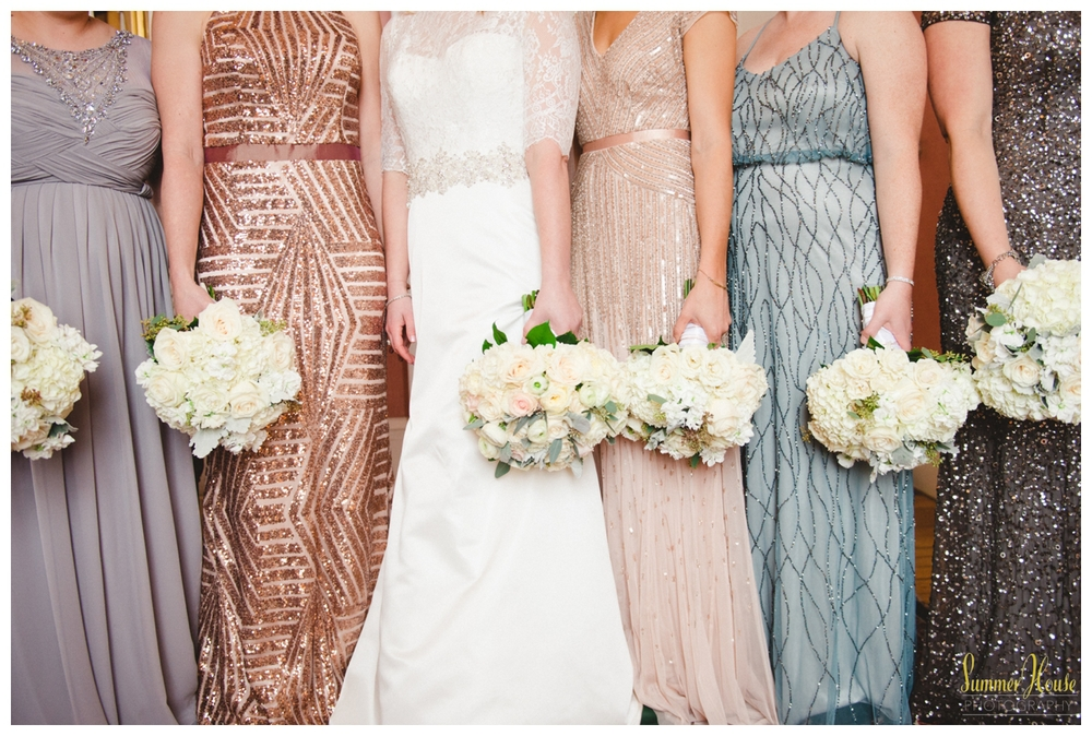 winter wedding sequin dresses