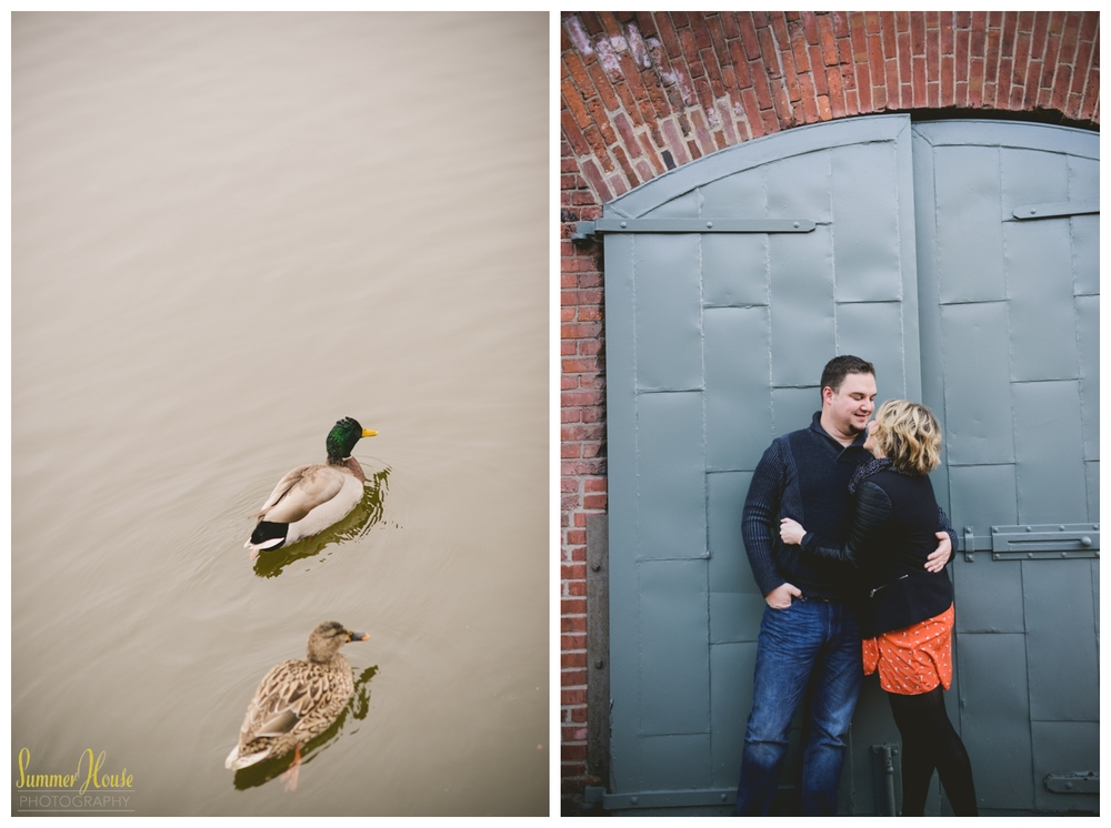 fells point engagement photography