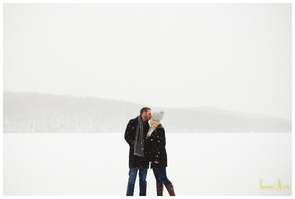 pennsylvania winter engagement photography