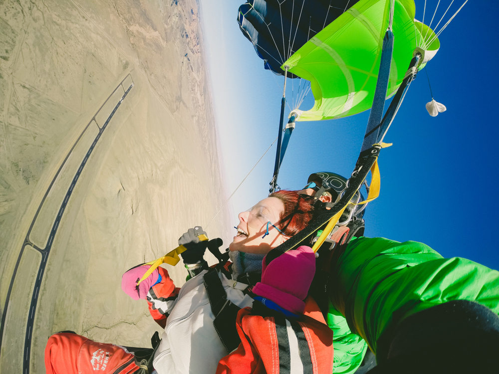Photo credit:  SKYDIVE MOAB