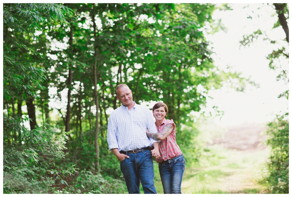 Pennsylvania farm engagement photography