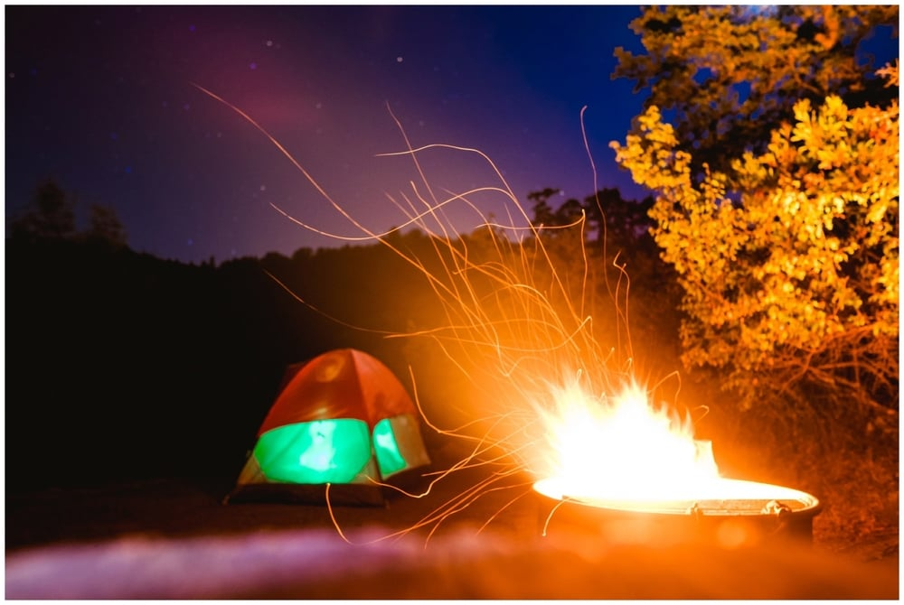 You can save TONS of money by camping on trips!!