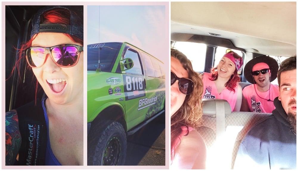 I got to drive the Quigley 4wd BAJA 1000 race van on my birthday!